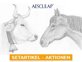 x% Aesculap Pferde- /Rinder- Schermaschinen - Aktionen