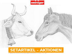 x% Heiniger Pferde / Rinder Schermaschinen - Aktionen