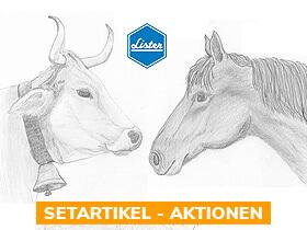 x% LISTER / LISCOP Pferde- / Rinder- Schermaschinen - Aktionen