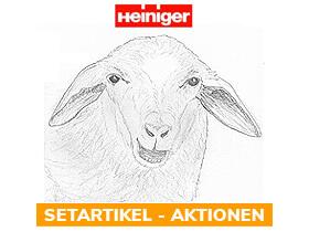 x% Heiniger Schafschermaschinen - Aktionen