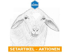 x% Lister Schafschermaschinen - Aktionen