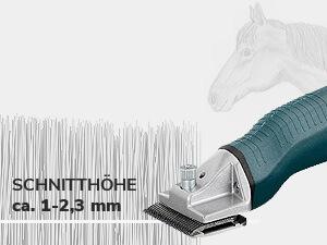 ca. 1-2,3 mm Schnitthöhe