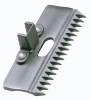 HAUPTNER 17Z Schermesser - Oberkamm  / Obermesser Euterschur RINDER für UK 1/10 mm