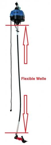 HEINIGER flexible Welle / Flexwelle 200 cm Worm für EVO / ONE