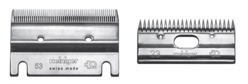 HEINIGER Schermesser - Set 53/23 Veterinärschermesser