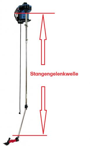 HEINIGER Stangengelenkwelle / Starre Welle DT04-EVO 203 cm Worm für EVO