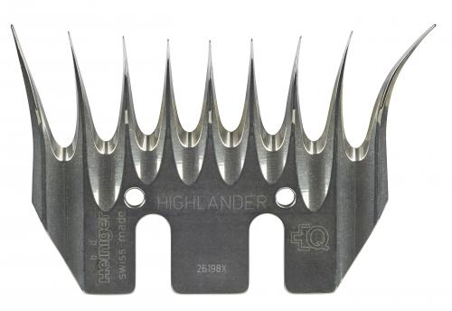 HEINIGER Highlander mit LG2 Unterkamm Schermesser / Schafschermesser - Winterkammplatte SCHAFE