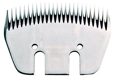 HEINIGER Shattle Unterkamm Schermesser / Rinderschermesser - Shattle Spezial Kammplatte für Rinder
