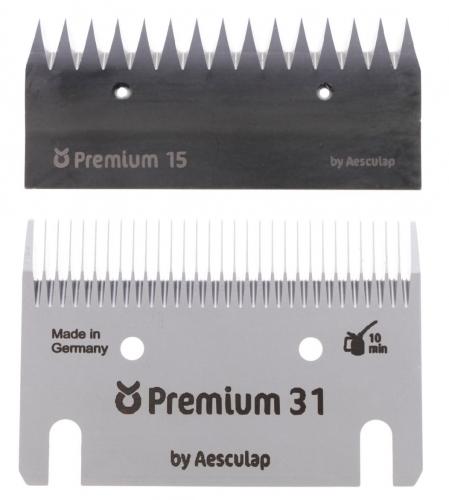 KERBL Premium Schermesser - Schermesserset 31/15 Zähne - ca. 3 mm (ersetzt 18961)