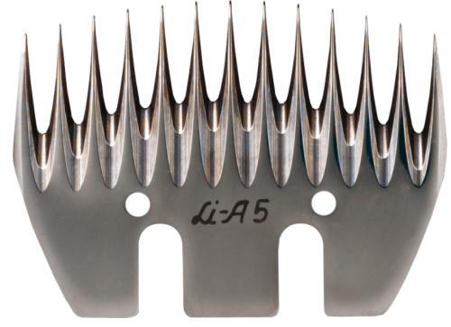 LI A 5 LISTER / LISCOP Schermesser - Untermesser SCHAF
