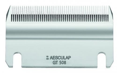 GT 508 AESCULAP Schermesser - Untermesser, 51 Zähne Rinderschermesser (EUTER) / Pferdeschermesser / Industrieschermesser (z. B. Pelzschur), 0,1 mm Schnitthöhe