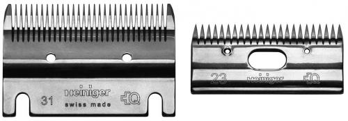 HEINIGER Schermesser - Set Standard 31/23 Standard-Pferdeschermesser