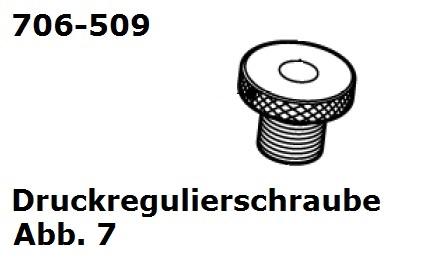 Druckregulierschraube  für Handy (HC)/Cordless (Battery Clipper)/USV (VS-84)/C12