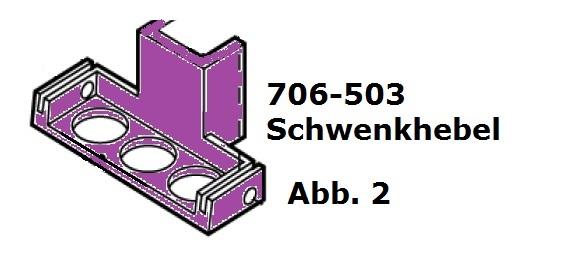 Schwenkhebel für Handy (HC)/Cordless (Battery Clipper)/USV (VS-84)/C12