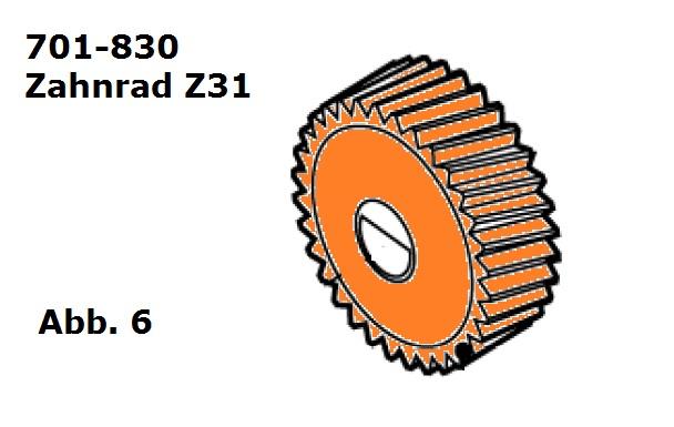 Zahnrad Z31 für Handy (HC)