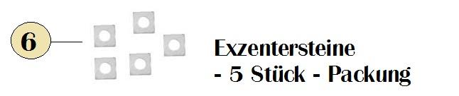 -> Exzentersteine 5 - Stück - Packung Abb. 6