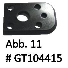 Schwalbenschwanz (ersetzt: GT104215), Abb. 11