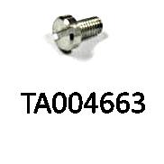 Zylinderschraube zur Befestigung des Druckstücks an der Unterplatte / Leiterplatte, Abb. 24