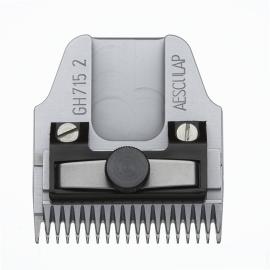 GH 715 AESCULAP Scherkopf - 2 mm Schnitthöhe, kurze Zähne