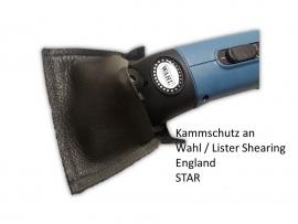 Filz / Leder Kammschutz Schermesserschutz Schutzhülle für Kammplatten, Kammtasche