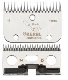 18915 CONSTANTA Schermesser R6 - Schermesser-Set für Constanta Rodeo 24/18 Zähne