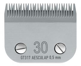 GT 317 AESCULAP Size 30 - 0,5 mm Snap On Scherkopf