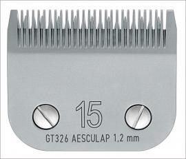 GT 326 AESCULAP Size 15 - 1,2 mm Snap On Scherkopf
