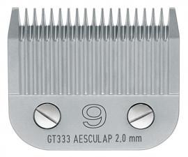GT 333 AESCULAP Size 9 - 2 mm Snap On Scherkopf