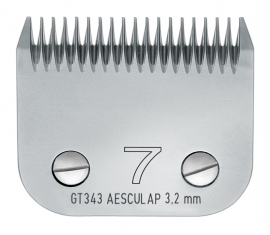 GT 343 AESCULAP Size 7 - 3,2 mm Snap On Scherkopf, grob