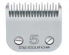 GT 357 AESCULAP Size 5 - 6,3 mm Snap On Scherkopf, grob