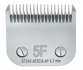 GT 360 AESCULAP Size 5F - 6,3 mm Snap On Scherkopf, fein