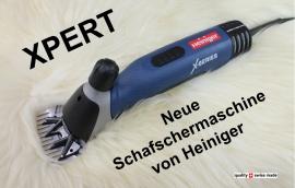 HEINIGER XPERT - Schafschermaschine, mit Messer-Auswahl