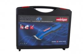 HEINIGER Saphir Akku-Schermaschine Hundeschermaschine 7.4V incl. 1 Akku ohne Scherkopf auch für Detailschur bei Pferde und Rinder geeignet