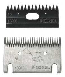 CONSTANTA4 Schermaschine / Rinderschermaschine (KERBL) incl. Schermesser-Satz