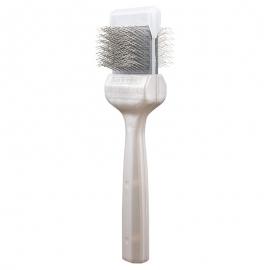 ActiVet Pro Aktiv Bürste, stark Coat Grapper silber, Größenauswahl