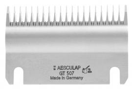 GT 507 AESCULAP Schermesser - Untermesser fein, 21 Zähne Rinderschermesser