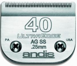 andis Size 40 UltraEdge Scherkopf, 0,25 mm, chirurgischer Scherkamm