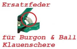 Ersatz-Feder Burgon &  Ball für englische Klauenschere für Schafe / Alpaka