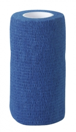 KERBL EquiLastic selbsthaftende Bandage, 7,5 cm breit, blau