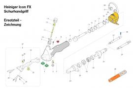 Heiniger Ersatzteile für Heiniger ICON FX Schurhandgriff - siehe Beschreibung, Auswahl