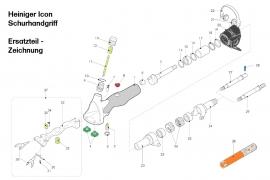 Heiniger Ersatzteile für Heiniger ICON Schurhandgriff - siehe Beschreibung, Auswahl