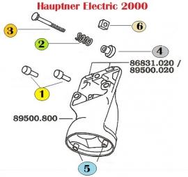 Hauptner Ersatzteile für Electric 2000, Auswahl