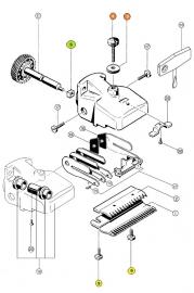 Aesculap Ersatzteile für Econom II und Econom Equipe, Auswahl
