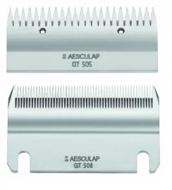 AESCULAP GT 508 / GT 505, 0,1 mm, 51/23 Rinderschermesser Euterschur, industrielle Schur