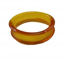 Gummiring / Gummieinsatz / Scherenaugengummi / Gummieinlage ø ca. 22 mm für Hundescheren / Groomerscheren