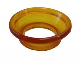 Gummiring / Gummieinsatz / Scherenaugengummi / Gummieinlage FÜR DAUMEN, gewölbt ø ca. 20 mm für Hundescheren / Groomerscheren