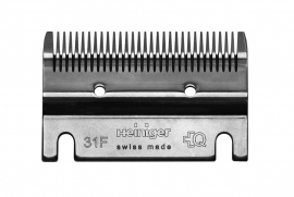 HEINIGER Schermesser - Untermesser Standard 31F - Feines Pferdeschermesser