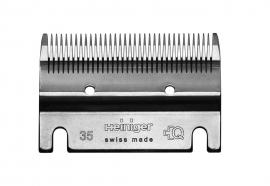 HEINIGER Schermesser - Untermesser 35 Zähne - Pferde- und Kuhstyling