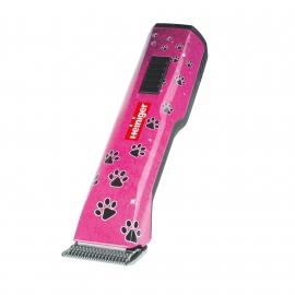 HEINIGER Saphir Pink Akku-Schermaschine Hundeschermaschine 7.4V incl. 1 Heiniger Scherkopf - Size 10 und mit Akku-Auswahl