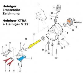 Heiniger Ersatzteile für Heiniger Xtra und S 12 - siehe Beschreibung, Auswahl